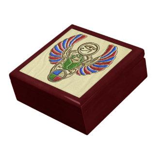 Scarab Eye of Horus Trinket Box