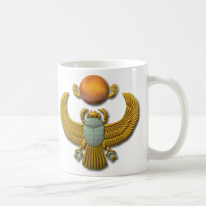 Scarab-gold Coffee Mug