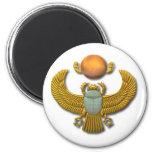 Scarab-gold Magnet
