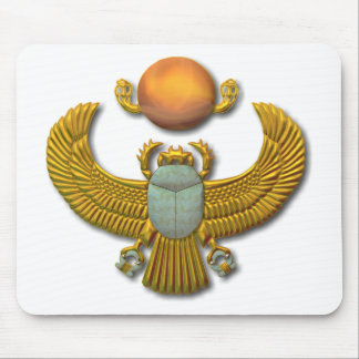 Scarab-gold Mouse Pad