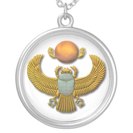 Scarab-gold Pendants