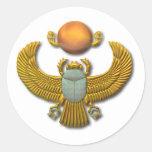Scarab-gold Sticker