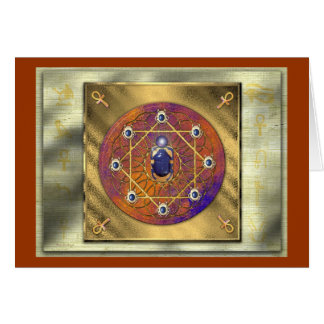 Scarab Initiations Greeting Cards