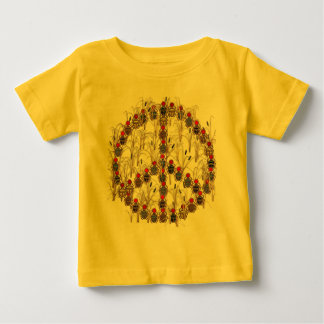 Scarab Peace Sign Baby T-Shirt