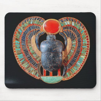Scarab pectoral, from the tomb of Tutankhamun Mouse Pad