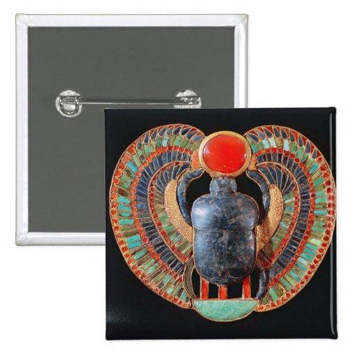 Scarab pectoral, from the tomb of Tutankhamun Pinback Button