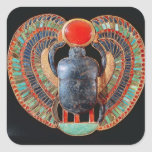 Scarab pectoral, from the tomb of Tutankhamun Square Sticker