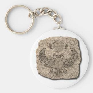 Scarab-stone Keychains