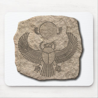 Scarab-stone Mouse Pad
