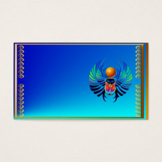 Scarab-The Divine Business Card