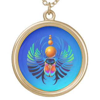 Scarab-The Divine Gold Plated Necklace