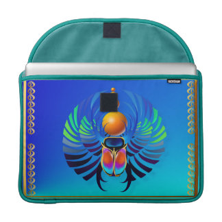 Scarab-The Divine MacBook Pro Sleeves