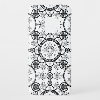 Scarab tile line pattern Case-Mate samsung galaxy s9 case