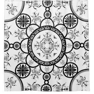 Scarab tile line pattern