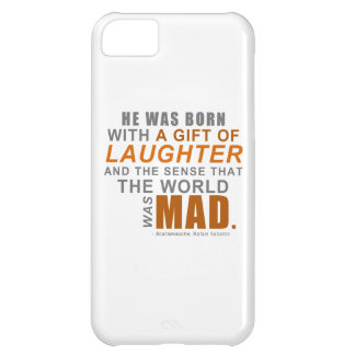 Scaramouche - A First Line Quote Cover For iPhone 5C
