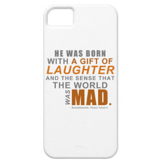 Scaramouche - A First Line Quote iPhone SE/5/5s Case