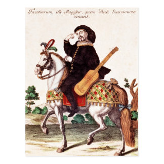 Scaramouche on Horseback Postcards