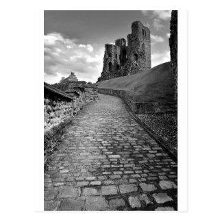 Scarboro Castle Postcard