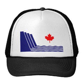Scarborough, bandera de Ontario Gorro De Camionero