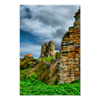 Scarborough Castle Poster