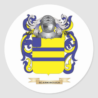 Scarborough Coat of Arms (Family Crest) Stickers