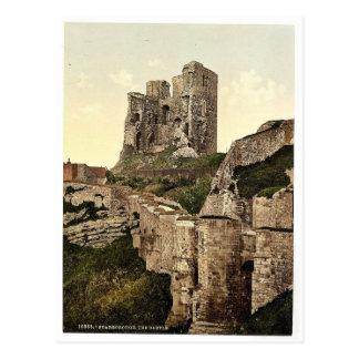 Scarborough, el castillo, Yorkshire, Inglaterra P  Postales
