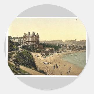 Scarborough, Grand Hotel, Yorkshire, England rare Sticker