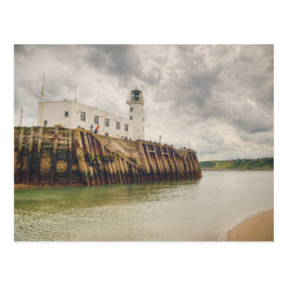 Scarborough Harbour Postcard