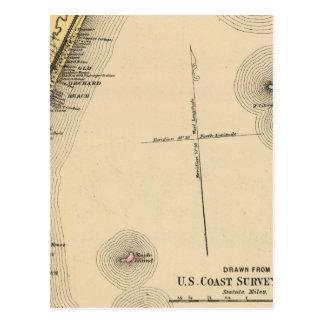Scarborough, huerta vieja, Saco, Biddeford Tarjeta Postal