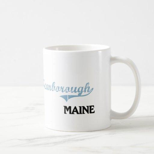 Scarborough Maine City Classic Classic White Coffee Mug