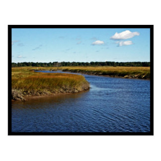 Scarborough Marsh (saltwater) Maine Post Card
