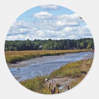 Scarborough Marsh (saltwater), Maine Stickers