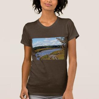 Scarborough Marsh (saltwater), Maine Tee Shirt