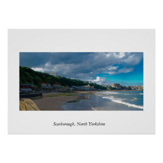 Scarborough North Yorkshire Poster