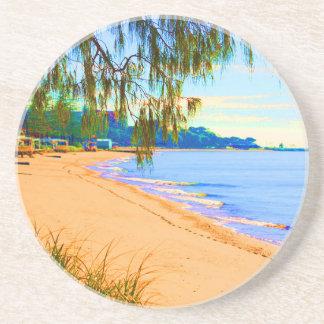 Scarborough Seascape Drink Coaster