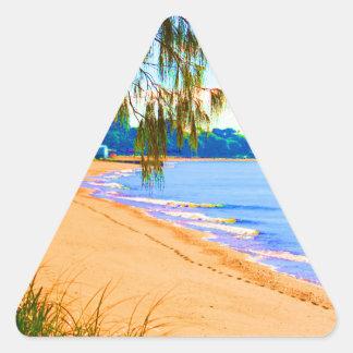 Scarborough Seascape Sticker