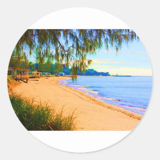 Scarborough Seascape Stickers