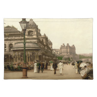 Scarborough Spa, Yorkshire, England Cloth Placemat