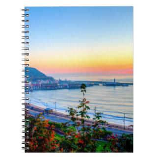 Scarborough Sunrise Spiral Notebook