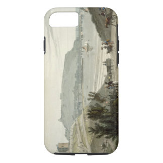 Scarborough, Yorkshire, from Volume VI of 'A Voyag iPhone 7 Case