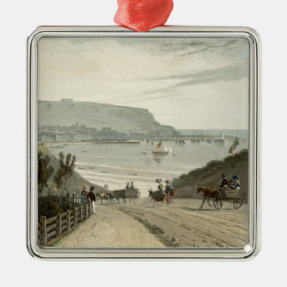 Scarborough, Yorkshire, from Volume VI of 'A Voyag Christmas Tree Ornaments