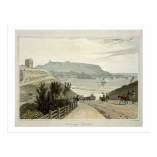 Scarborough, Yorkshire, from Volume VI of 'A Voyag Postcard