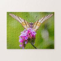 Scarce Swallowtail Butterfly. Jigsaw Puzzle