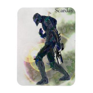Scarday Art-Magnet -V Magnet