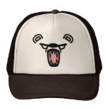 scare bear. hat