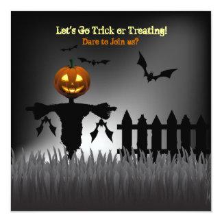 Scare Lantern -Trick or Treating Invitation