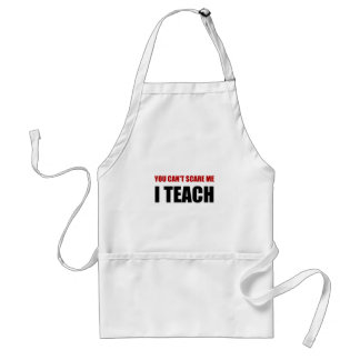 Scare Me I Teach Adult Apron