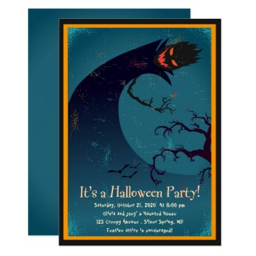 Halloween Themed Scare up a Party Halloween Party Invitation