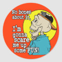 Scare up Some Halloween Fun sticker