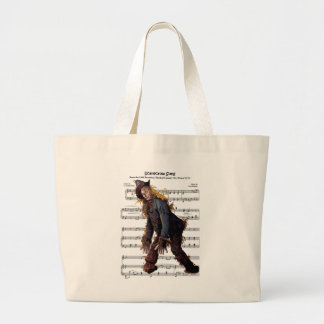 """Scarecrow 1903 Broadway Musical Comedy """"The Wizard Large Tote Bag"""